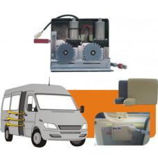 Motorni pogon bočnih vrat za kombije, minibuse in avtodom 2 motorja