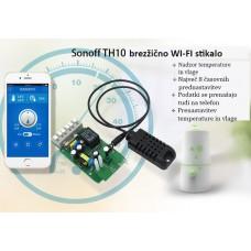 SONOFF WIFI stikalo za nadzor naprav 240V 16A s senzorjem za temperaturo in vlago