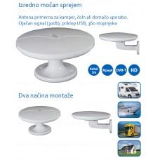 Aktivna Antena Vic MI-ANT04 za avtodom, plovilo ali domačo uporabo